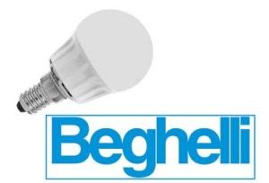 Энергосохраняющие и светодиодные (bulb) лампочки Beghelli - Сделано в Италии- от компании Stockist.it – информация на 07 марта 2016 г.