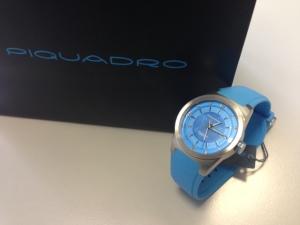 Наручные часы Piquadro,сделано в Италии, от компании Stockist.it – информация на 09 марта 2016 г.
