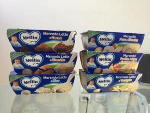 Детское питание Mellin от Stockist Italy