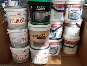 Обанкротившийся магазин красок, лаков, шпатлевки, грунтовки от Stockist Italy